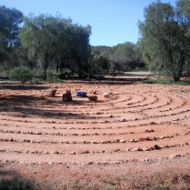 Labyrinth walk - Campfire in the Heart - Alice Springs